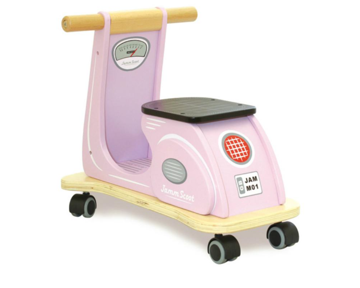 Indigo Jamm scooter