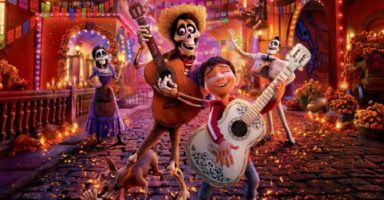 Buzz off bats! Celebrate Halloween this year with the kids 'Coco' style!