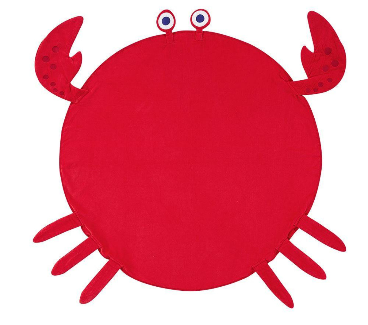 Pottery Barn Kids crab towel