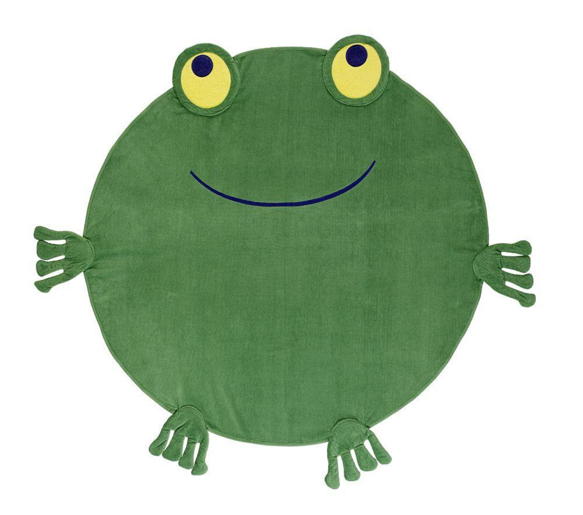 Pottery Barn Kids Frog Towel