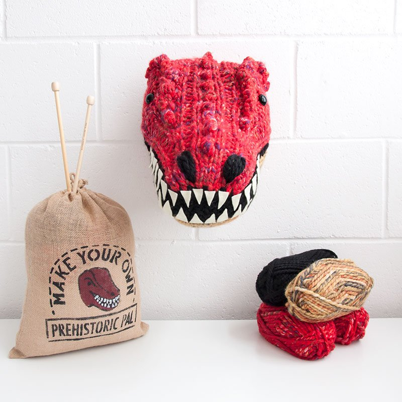 Sincerely Louise Knitted Animal Head Kits