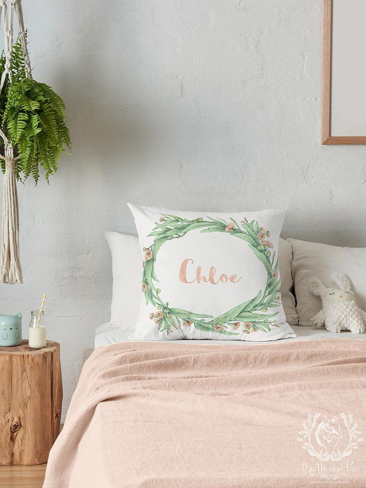 Australian flora cushion