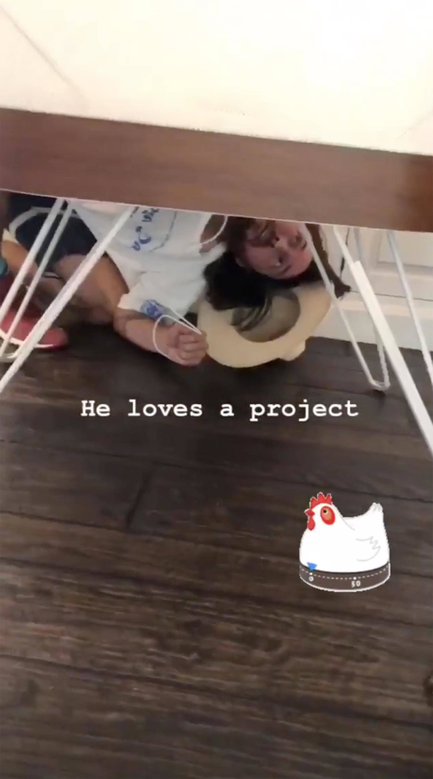 Kate Hudson Instagram story