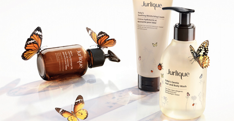 Jurlique products for baby