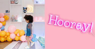 Let's face it, you probably need a cute neon sign for your child's room