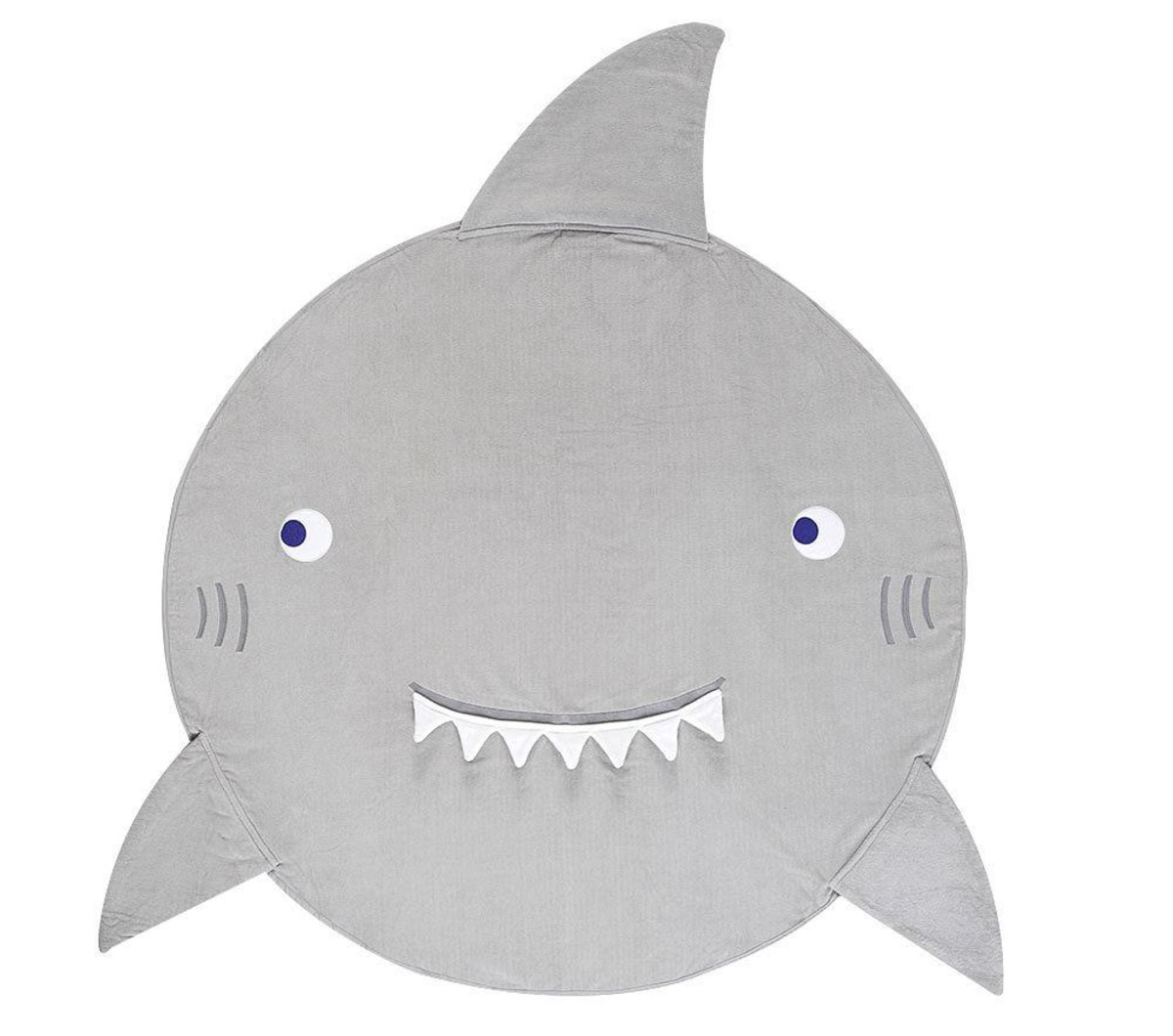 Pottery Barn Kids Shark Towel