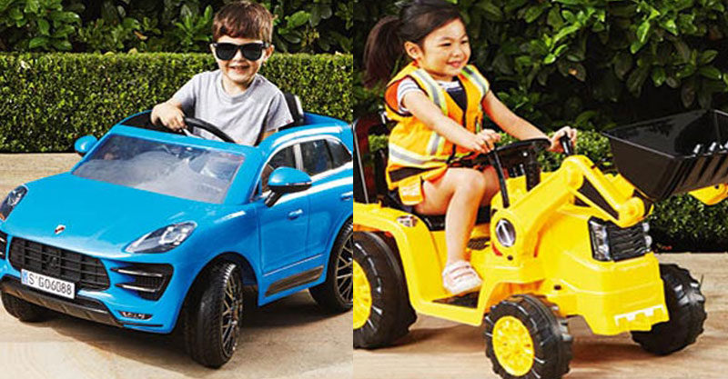 Oh Aldi Has A Ride On Toy Car And Tractor But Where Would My Kids