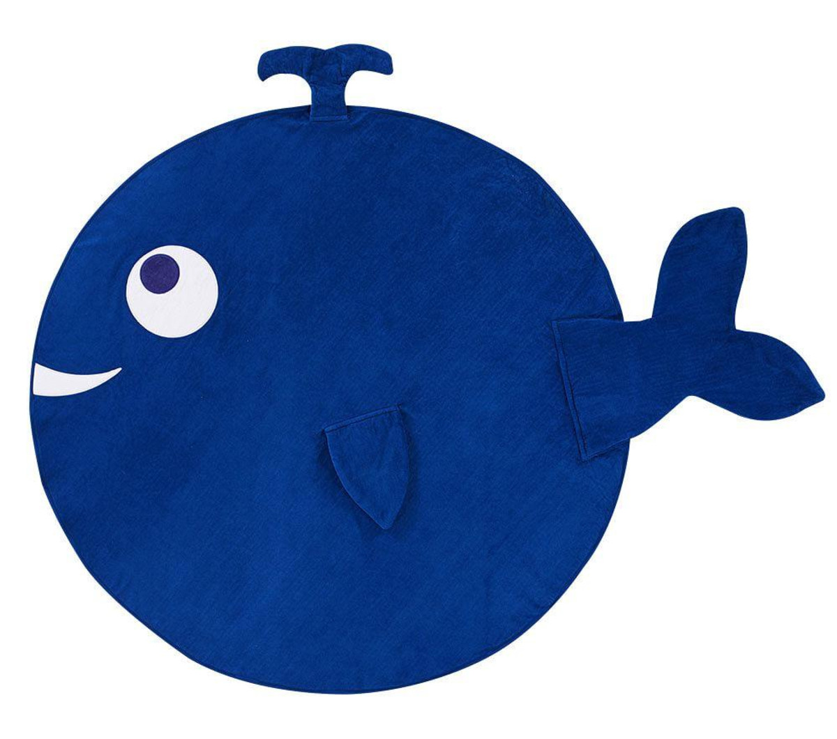 Pottery Barn Kids Whale Towel