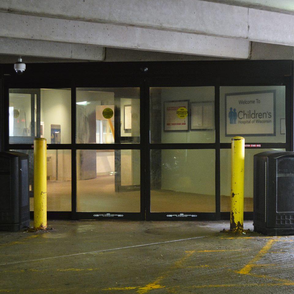 Wisconsin hospital doors