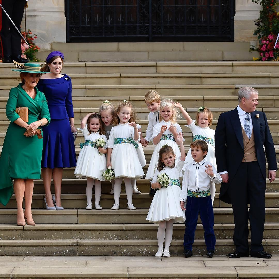 Eugenie's wedding