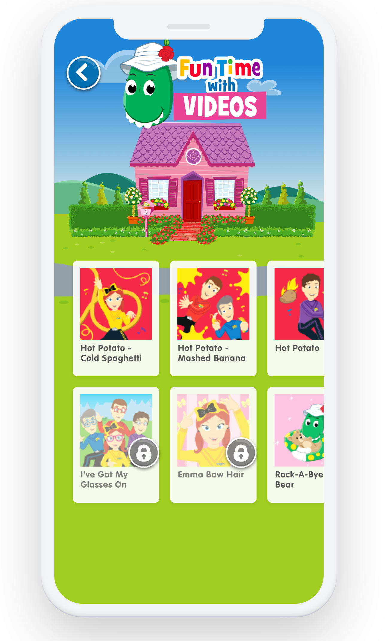 The new Wiggles app