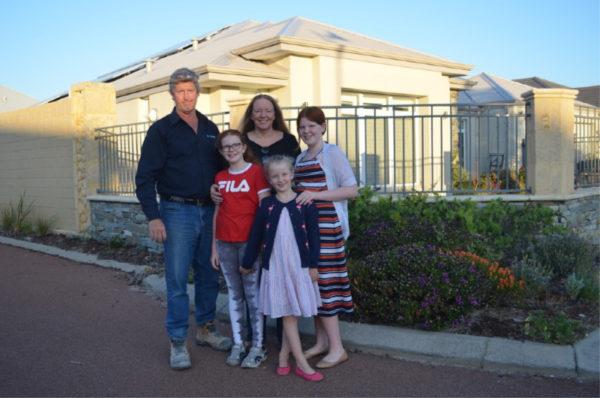 Lea Hiser & family