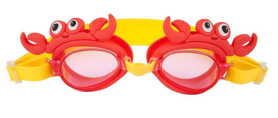 crabby swimming goggles