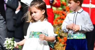 People think these photos prove Princess Charlotte is the Queen's tiny twin