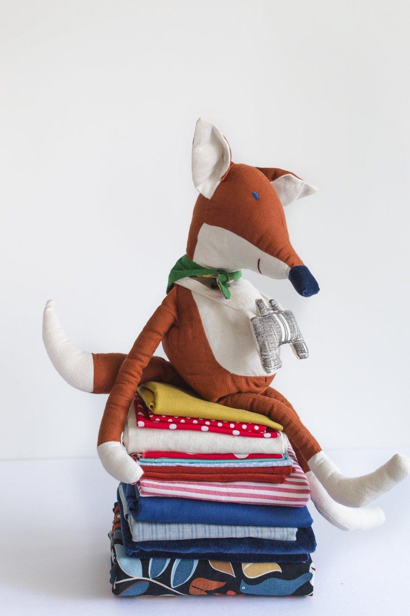Eco friendly toy fox
