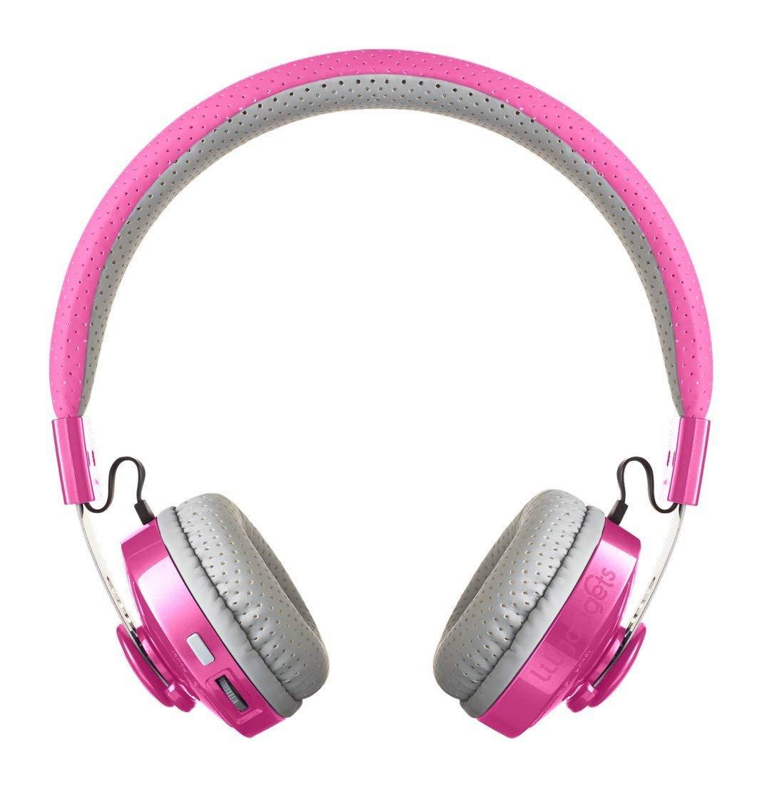 LilGadgets Untangled Pro Premium Children's/Kid's Wireless Bluetooth Headphones with SharePort