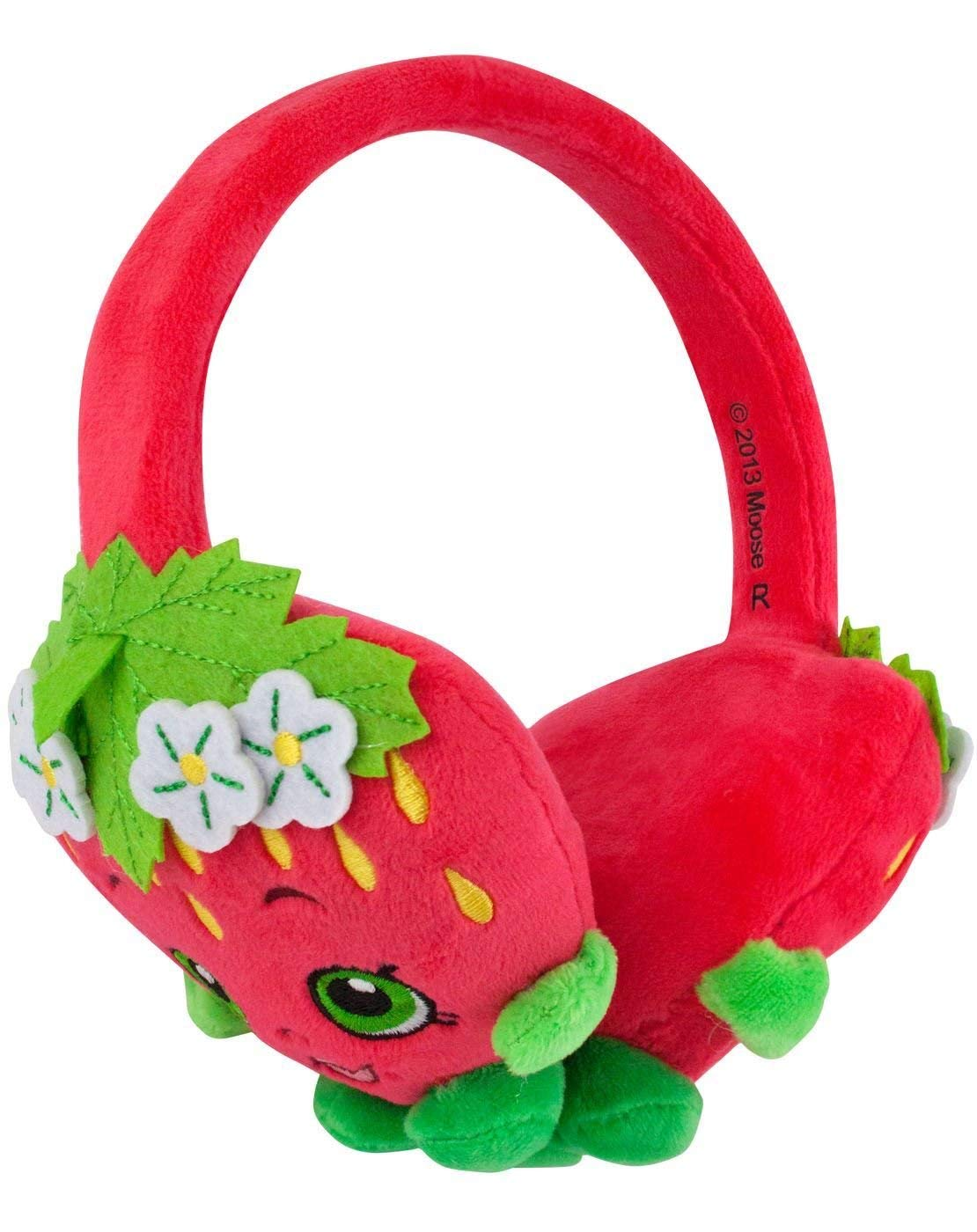 Shopkins Plush Kids Headphones/Headband for Audio/DVD/MP3/iPad