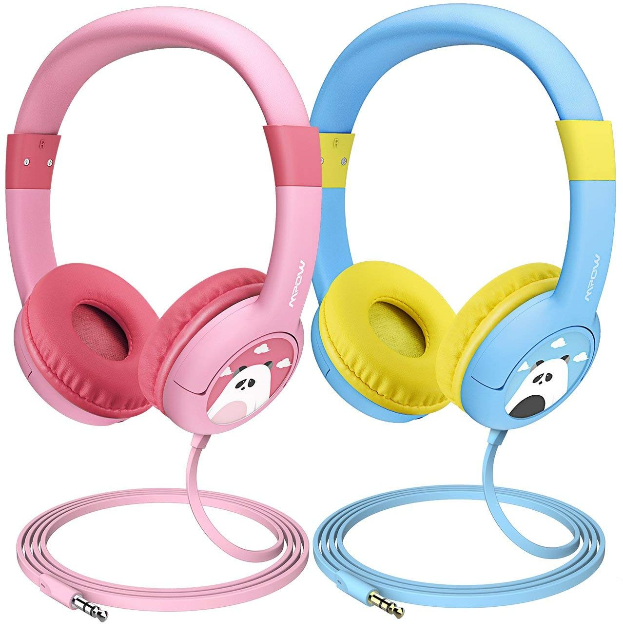 Mpow (2-Pack) Kids Headphones with 85dB Volume Limited Hearing Protection & Music Sharing Function