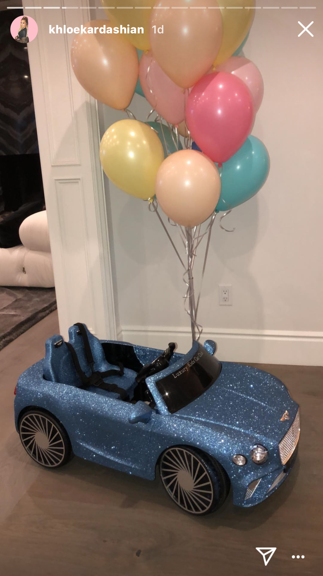 Dream Kardashian birthday party