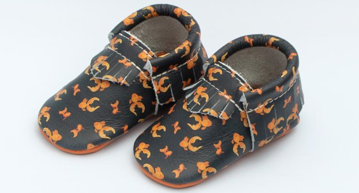Freshly Picked pet themed baby shoes