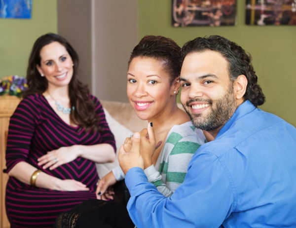 Couple with surrogate