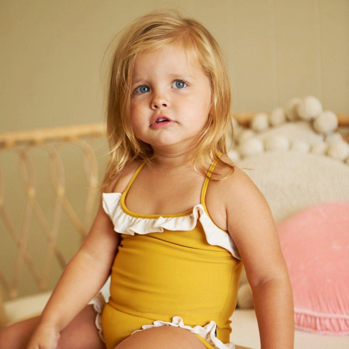 Marisol Swimsuit / Mustard