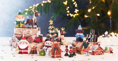 These new kids' supermarket collectables are Christmassy AND recyclable!