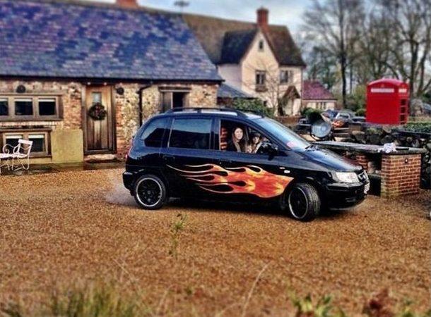Jools Oliver's car