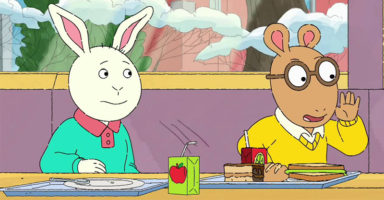 We found this picture of Arthur all grown up and now we feel really old