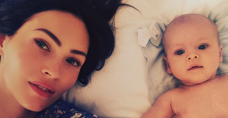 Megan Fox and baby Journey