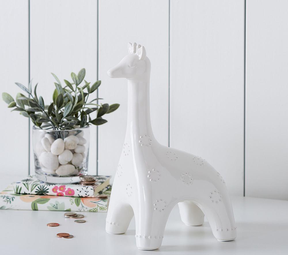 Giraffe piggy bank