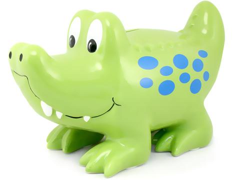 Gator piggy bank