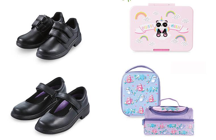 ALDI has velcro school shoes on sale