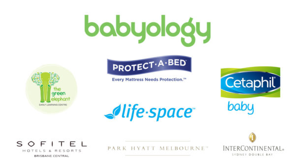 Sponsor logos baby showers 2019