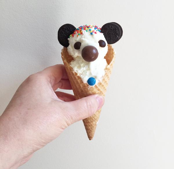 Koala Ice Cream Cones
