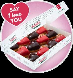 Krispy Kreme Sweetheart donut pack