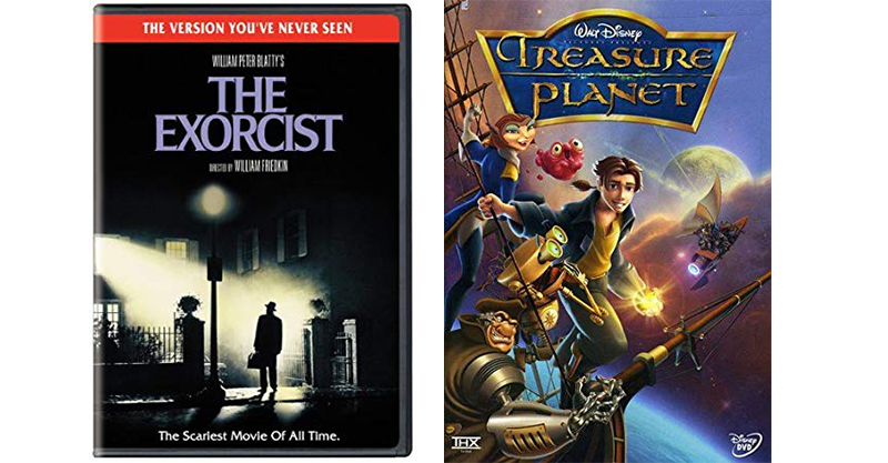 Treasure Planet and The Exorcist