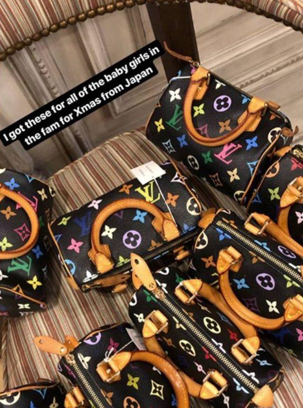 Kim Kardashian's Vuitton bags