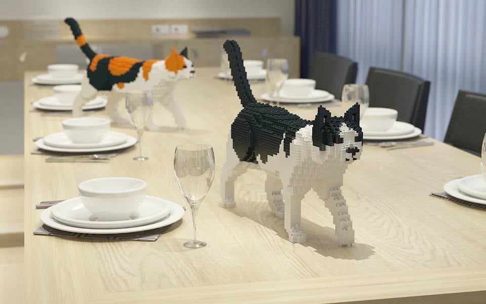 JEKCA cat sculptures