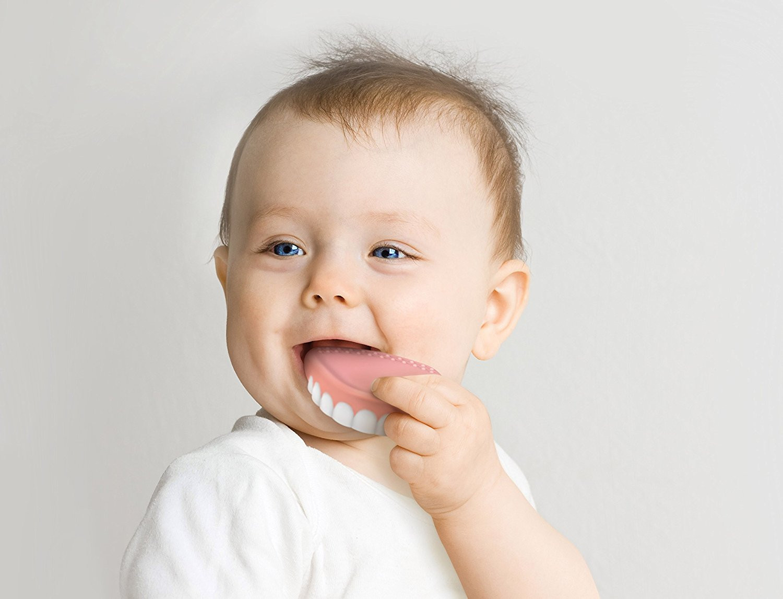 False teeth teething toy