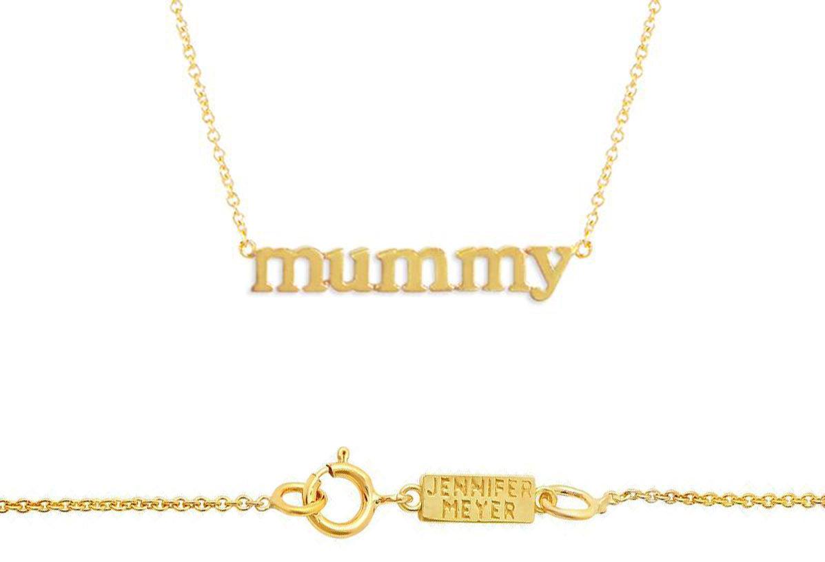Jennifer Meyer Mummy Necklace