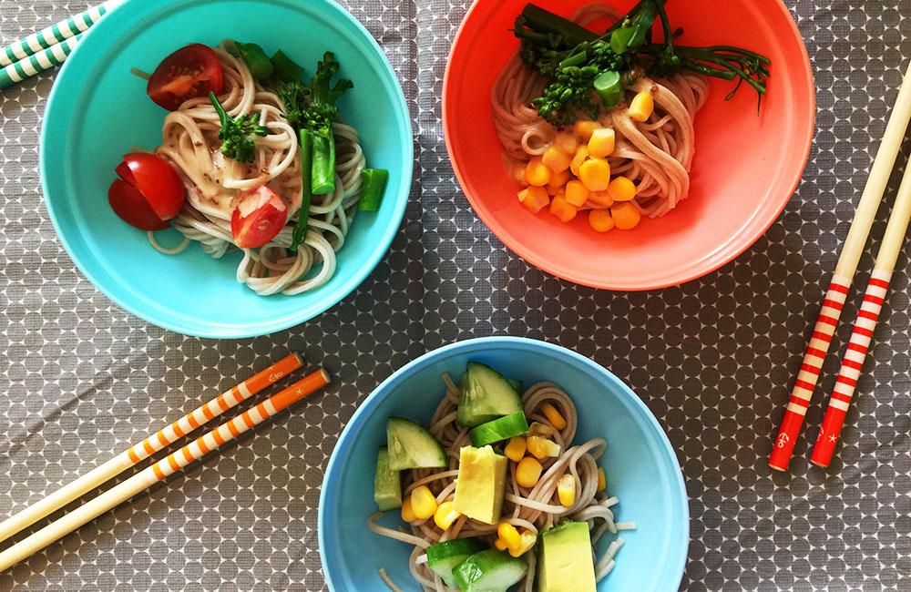 Pick and Mix Soba Salad recipe
