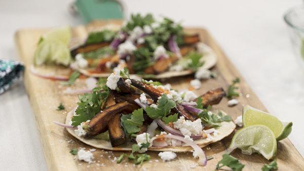 Sweet potato soft tacos recipe