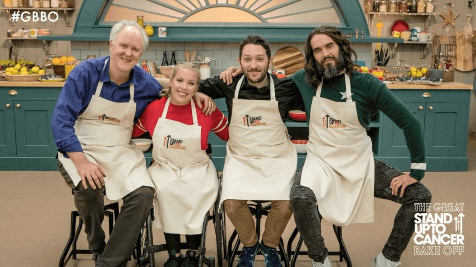 Russell Brand on Bake Off