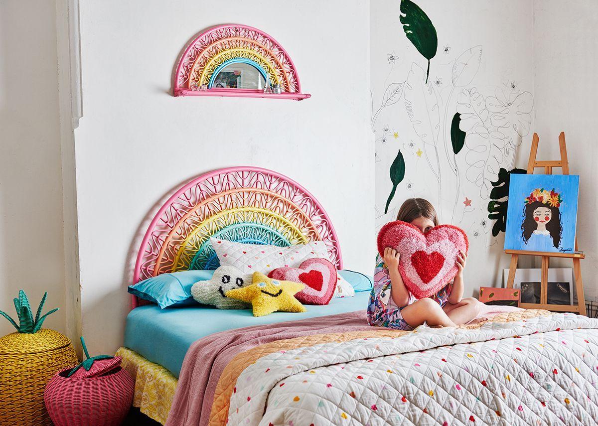 Rainbow bedhead