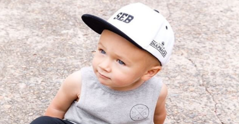81135c88d 6 ways you can join the toddler snapback trend today