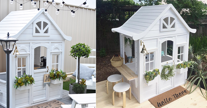 The Kmart Cubby House Hack Taking Over Instagram And Parents Lives