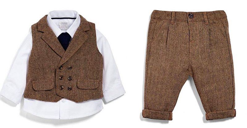 b7ed69fb Dress your baby like a tiny geezer from Peaky Blinders or Boardwalk Empire