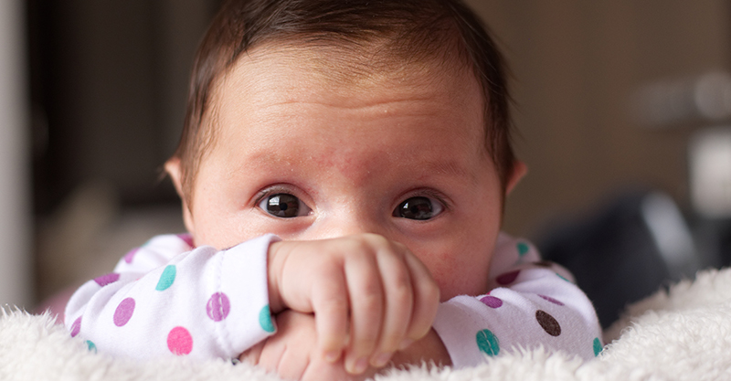 The 6 different types of baby birthmarks