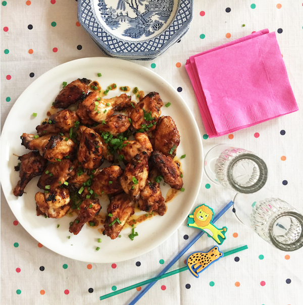 oven-baked chicken wings